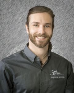 Staff photo of Creek Run employee Mason Frauhiger