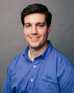 Staff photo of Creek Run employee Ross Yeater